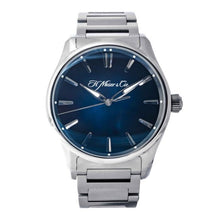 Load image into Gallery viewer, H. Moser & Cie. Pioneer Centre Seconds Blue Dial Stainless Steel 42.8mm (3200-1200) - Boston