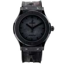 Load image into Gallery viewer, Pre-owned Hublot Berluti Special Edition Classic Fusion Black Ceramic 45mm (511.CM.0500.VR.BER16) - Boston