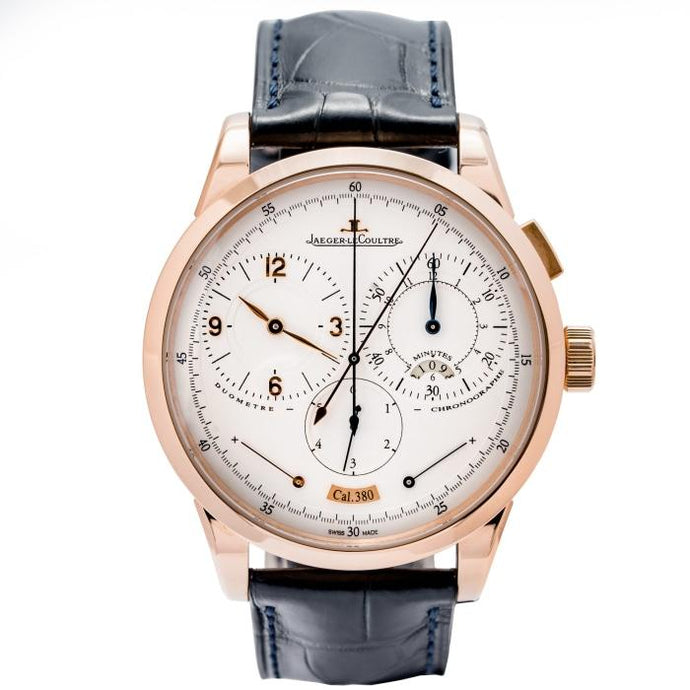 Pre-owned Jaeger-LeCoultre Duomètre à Chronographe Rose Gold 42mm (Q6012420) - Boston