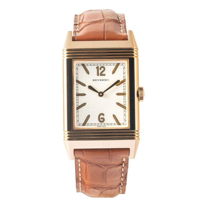 Jaeger Le Coultre Reverso Ultra Thin Tribute To 1931 Rose Gold (Q2782521) - Boston