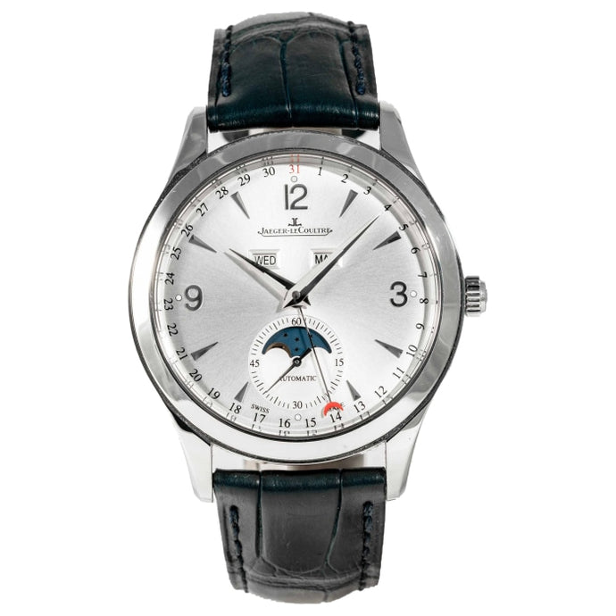 Jaeger Le Coultre Master Calendar Stainless Steel 39 Silver (Q1558420) - Boston