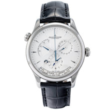 Load image into Gallery viewer, Pre-owned Jaeger-LeCoultre Master Geographic Stainless Steel 39mm (Q1428421) - Boston