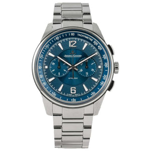 Jaeger Le Coultre Polaris Chronograph Stainless Steel 42 blue (Q9028180) - Boston