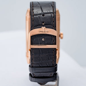 Pre-owned Jaeger-LeCoultre Reverso Tribute Calendar Rose Gold 49.7 X 29.9mm Large (Q3912420) - Boston