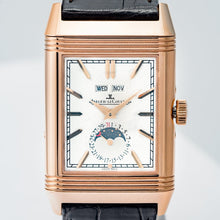 Load image into Gallery viewer, Pre-owned Jaeger-LeCoultre Reverso Tribute Calendar Rose Gold 49.7 X 29.9mm Large (Q3912420) - Boston