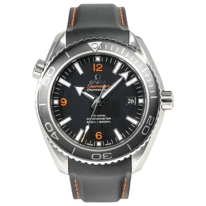 Omega Seamaster Planet Ocean Co-Axial Black Dial Stainless 46mm (22085000) - Boston