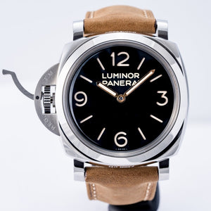 Pre-owned Panerai Luminor Left-Handed Destro Stainless Steel 47mm (PAM00557) - Boston