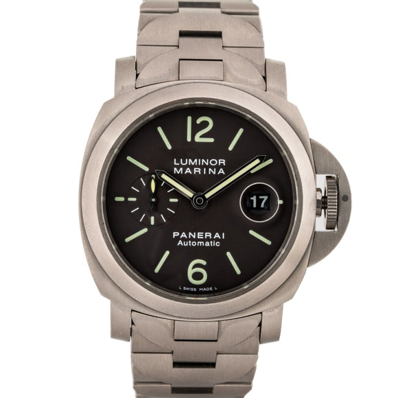 Pre-Owned Panerai Luminor Marina Titanium 44Mm (Pam00279) - Watches Boston