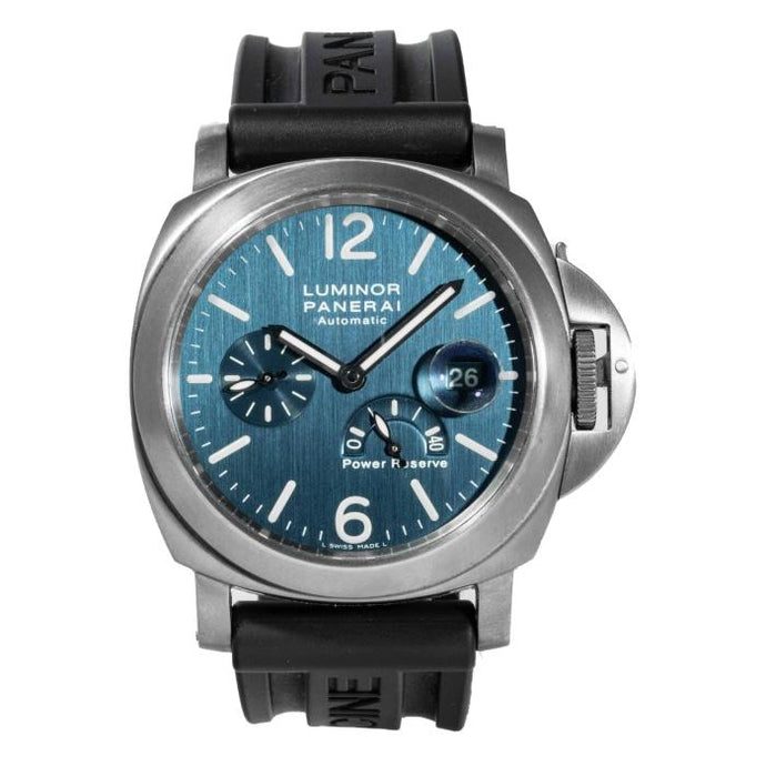 Panerai Luminor Power Reserve Titanium 44 Blue (PAM00093) - Boston