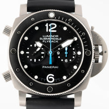 Load image into Gallery viewer, Pre-owned Panerai Luminor Submersible Flyback Chronograph Titanium 47mm (PAM00615) - Boston