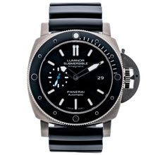 Load image into Gallery viewer, Pre-owned Panerai Submersible 1950s 3 Days Amagnetic Titanium 47mm (PAM01389) - Boston