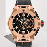 Preowned Hublot Big Bang Ferrari Unico King Rose Gold 45mm (402.OX.0138.WR) - Limited Edition - Boston