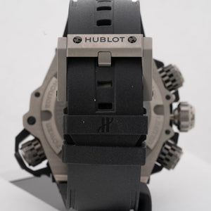 Preowned Hublot Big Bang King Power Oceanographic Titanium 48mm Limited Edition (732.NX.1127.RX) - Boston
