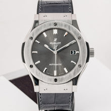 Load image into Gallery viewer, Preowned Hublot Classic Fusion Racing Grey Titanium 45mm (511.NX.7071.LR) - Boston