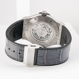 Preowned Hublot Classic Fusion Racing Grey Titanium 45mm (511.NX.7071.LR) - Boston