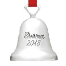 Reed & Barton Annual Christmas 2018 Bell 34Th Edition - Home & Decor Boston