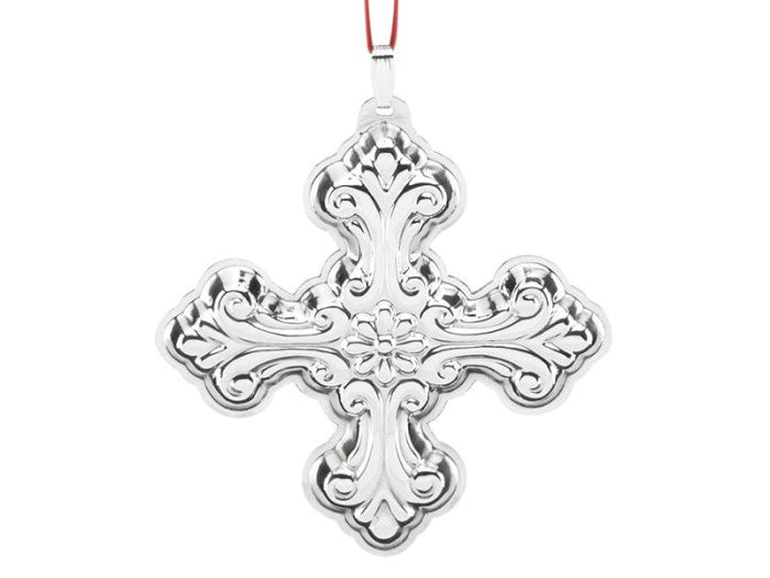 Reed & Barton Christmas Cross 46Th Edition Sterling Ornament - Home & Decor Boston
