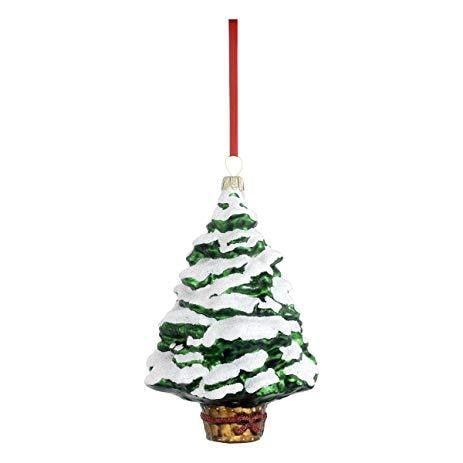 Reed & Barton Christmas Pine Tree Ornament - Home & Decor Boston