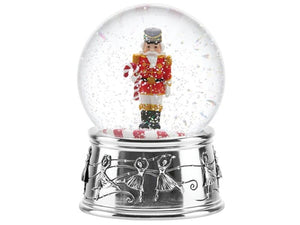 Reed & Barton Nutcracker Snowglobe - Home & Decor Boston