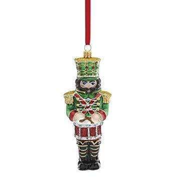 Reed & Barton Nutcracker W/ Drum Ornament - Home & Decor Boston