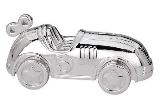 Reed & Barton Race Car Bank - Gifts Boston
