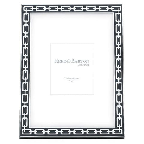 Reed & Barton~ Silver Link Midnight Frame - Home & Decor Boston