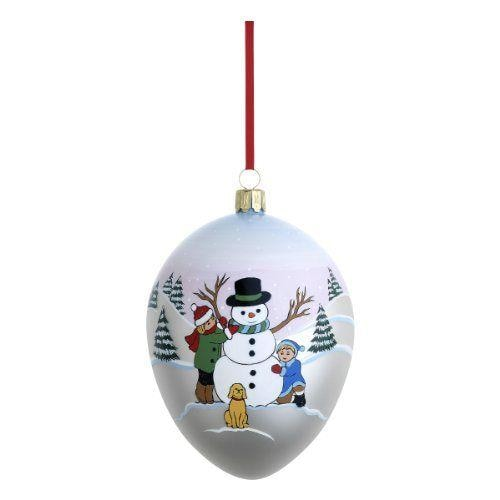 Reed & Barton Snowman And Friends Ornament - Home & Decor Boston