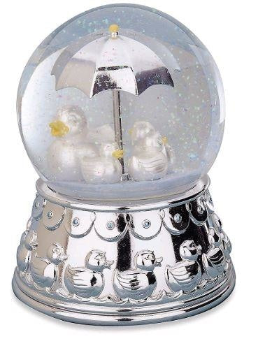 Reed & Barton Something Duckie Rain Globe - GIFTS Boston