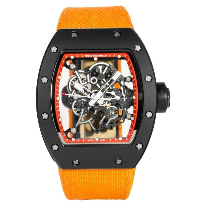 Richard Mille RM055 Bubba Watson Red Drive Matte Black DLC Titanium 49.9mm x 42.7mm (RM055) - Boston