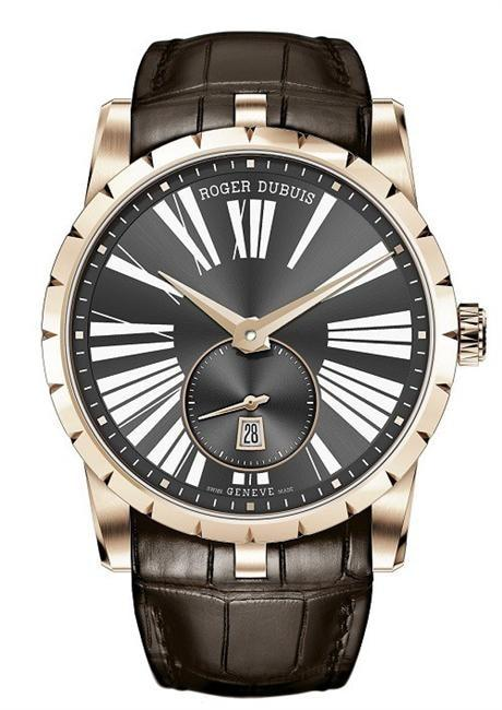 Roger Dubuis Excalibur Automatic 42Mm Rose Gold (Rddbex0537) - Watches Boston