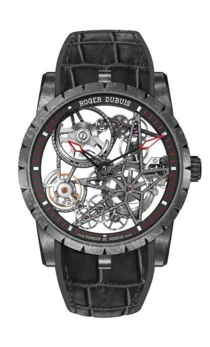 Roger Dubuis Excalibur Automatic Skeleton 42Mm Carbon (Rddbex0508) - Watches Boston