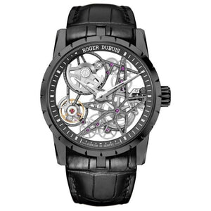 Roger Dubuis Excalibur Automatic Skeleton 42Mm Dlc Titanium (Rddbex0473) - Watches Boston