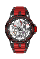 Roger Dubuis Excalibur Automatic Skeleton 45Mm Carbon (Rddbex0573) - Watches Boston