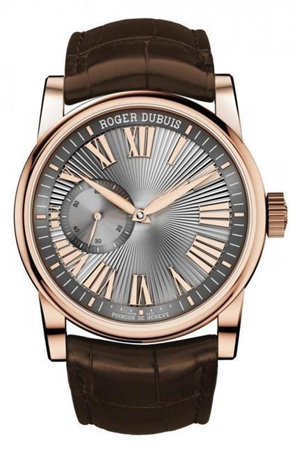 Roger Dubuis Hommage Automatic 42Mm Rose Gold (Rddbho0565) - Watches Boston