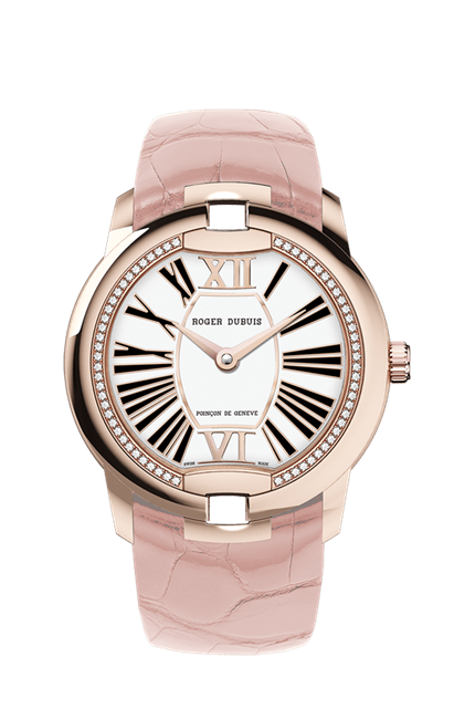Roger Dubuis Velvet Automatic 36Mm Rose Gold And Diamonds (Rddbve0033) - Watches Boston
