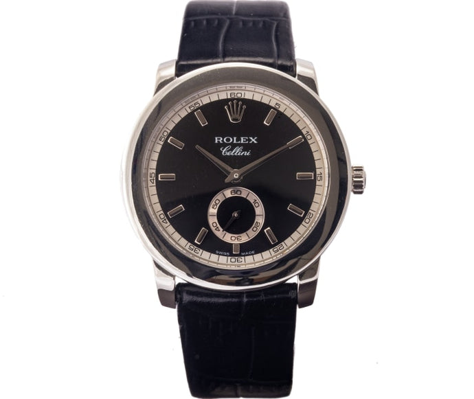 Rolex Cellini Cellinium Platinum 38Mm (5241/6) - Boston