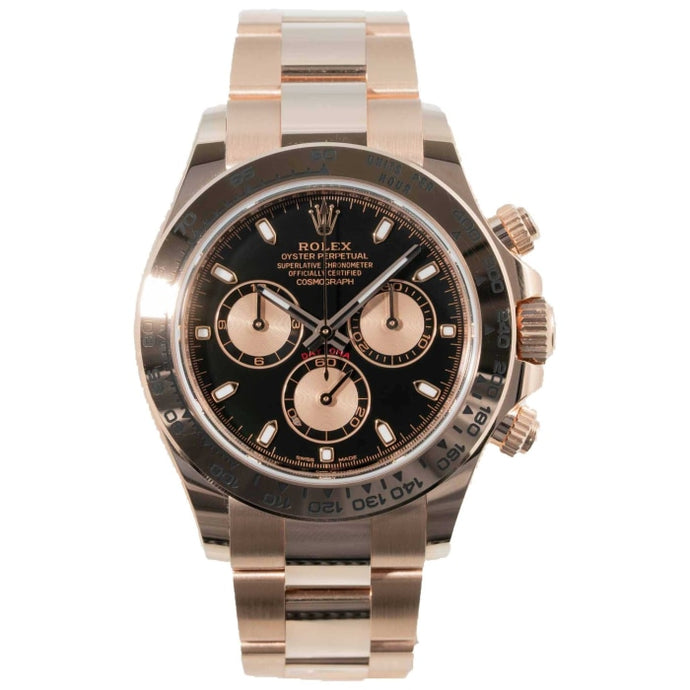 Rolex Cosmograph Daytona Chronograph18kt Everose Gold 40mm (116505) - Boston