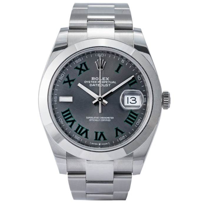 Rolex Datejust 41 Stainless Steel 41mm (126300) - Boston