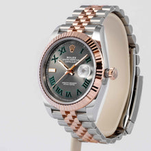 Load image into Gallery viewer, Rolex Datejust 41 Two-Tone Rose Gold and Stainless Steel 41mm (126331) - UNWORN - Boston