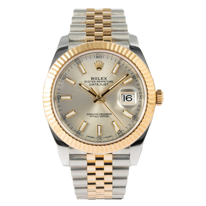 Rolex Datejust 41 Two-Tone Yellow Gold and Stainless Steel 41mm (126333) - Boston