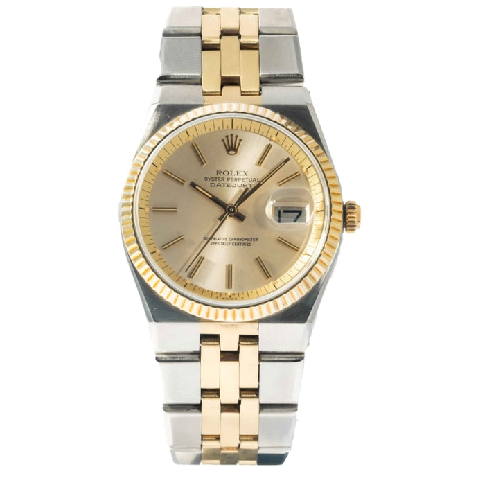 Rolex Datejust Champagne Dial Yellow Gold and Stainless Steel 36mm (1630) - Boston