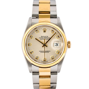 Rolex Datejust Two-Tone Yellow Gold and Stainless Steel 36mm (16203) - Boston