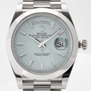 Rolex Day-Date 40 Platinum Day-Date 40mm (228206) - Boston