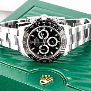 Rolex Daytona Ceramic Bezel Black Dial Stainless Steel 40mm (116500LN) - Boston