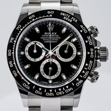 Load image into Gallery viewer, Rolex Daytona Ceramic Bezel Black Dial Stainless Steel 40mm (116500LN) - Boston