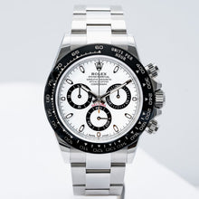 Load image into Gallery viewer, Rolex Daytona Ceramic Bezel White Dial Stainless Steel 40mm (116500LN) - Boston