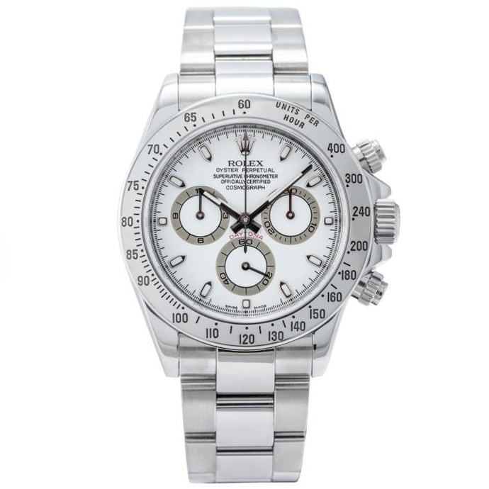 Rolex Daytona Cosmograph White Dial - Boston