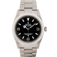 Load image into Gallery viewer, Rolex Explorer I Black Dial Stainless Steel 36Mm (114270) - Boston