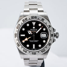 Load image into Gallery viewer, Rolex Explorer II Black Dial Stainless Steel 42mm (216570) - Boston