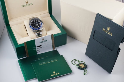 Rolex Gmt-Master Ii Batman Stainless Steel 40Mm (116710 Blnr) - Watches Boston